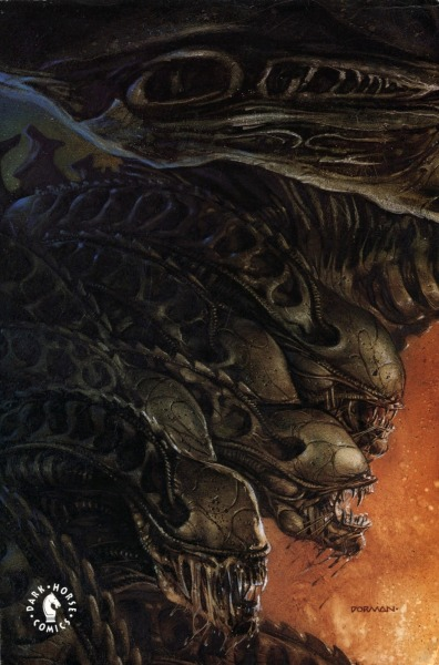brianmichaelbendis:  David Dorman - Aliens Tribes