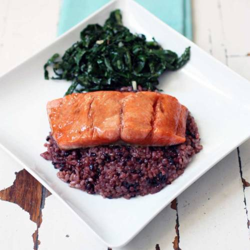 Salmon is best when sweet. We recommend our brown sugar-soy glaze.