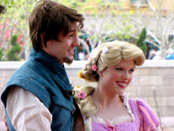 magicaldisneyworld:  Rapunzel and Flynn Rider on Flickr.