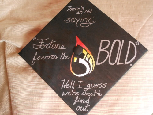 in which arin tries to art graduation cap ds9 pliny