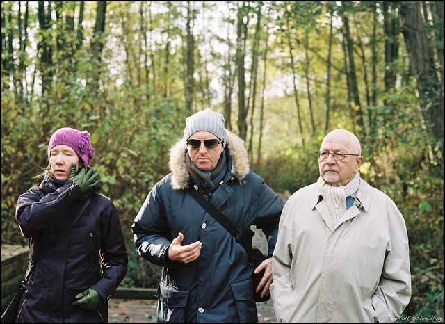 Family Reunion: Taking a Walk. November 2012 on Flickr.Zenza Bronica ETRSi (645) 2.8/75 MC on New Kodak Portra 400 @200, developed and scanned by Open-Eyes, Hamburg.