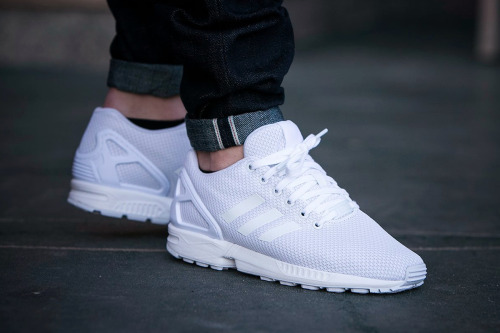 the latest 92da2 f8121 Adidas Zx Flux White On Feet