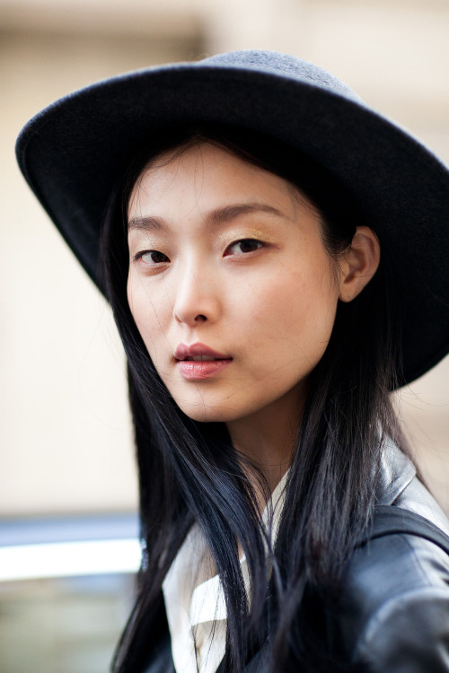 Sung Hee Kim after Emanuel Scervino FW13