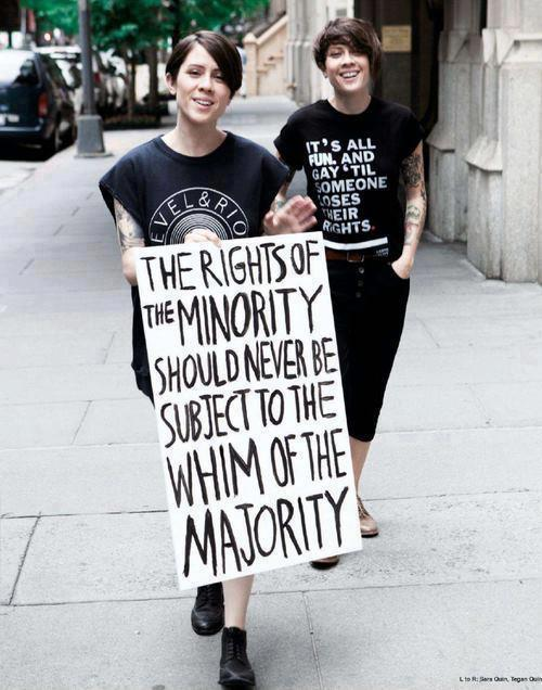 Rights of the majority…