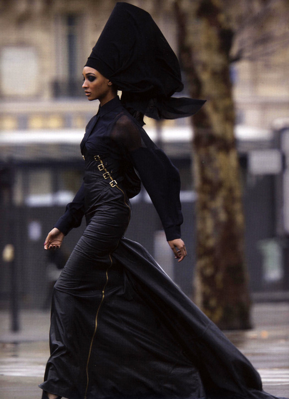 Jourdan Dunn by Hans Feurer for Antidote, spring 2013