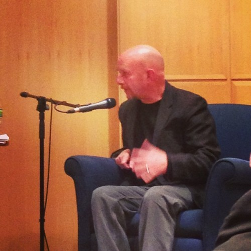 Last night, I went to hear Nick Hornby give a talk at school. Needless to say, he is one of my eternal favorite authors, I re-read his books almost every year, and devour any new projects ASAP because his voice is unpretentious, relatable, and really hits the mark on a kind of modern shrug-your-shoulders optimism.  Writers are often woefully inarticulate in person, but that wasn't the case with him (can't say the same about his co-presenter, however). And hearing him talk about how one of his favorite characters in his own work is Marcus just made me feel so incredibly sad. This man understands what it feels like to have all these disparate elements of life come together in a natural manner, and express it with equal amounts of humor and pain, without flowery language, without needless drudgery.  These days, I feel as though I am barely myself. I know it's just the temporary (well, let's hope) drain of law school and possibly the most uninspiring group of people (as a collective) I've ever met. Sometimes I wonder if I ascribe strangeness to them because they actually are weird or if I just have a compulsive need to make people more interesting than they actually are. I fear that my priorities have been so misaligned that momentarily stepping back into the person I always believed myself to be is bittersweet rather than simple. And where has that simplicity gone? I was never as out-there as Marcus, but I don't want to lose the few good things about myself to conform to a boring world of straw man high stakes and stress for the point of stress. I thought I was a person who found joy in writing, in art, in connecting with people. Now I feel as though I'm going through the motions while my mouth runs off on nonstop complaints about school to the point where I want to slap myself. My biggest fear is that when I do snap out of it, I will emerge, post-law-school lobotomy, with a false recollection of the person I was before. That I will have convinced myself that I'm not this superficial, antipathetic person who thinks she has passions but stares at them blankly through frosted panels while worrying about the dumbest shit imaginable. By which I don't even mean office politics or high-stakes corporate dogfights. It's the ache of self-importance superimposed on a quivering blob of insecurity. I don't want to be a part of that. But how does one avoid it while maneuvering through professional advancement…?  Well, what can I say. Growing up. It's a challenge.