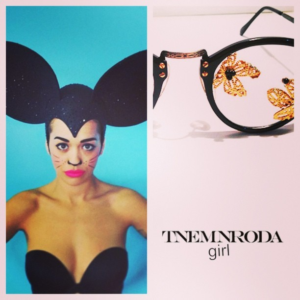 omotumbls:  Are you a #tnemnrodagirl ? #elevatedtrend #boss #influential #fashion #jewelry #accessories #trends #love #nycfashion #instagood #instagram #tnemnroda #tnemnrodagirl #newdesigner #lookbook #2013 photo cred: @ritaora