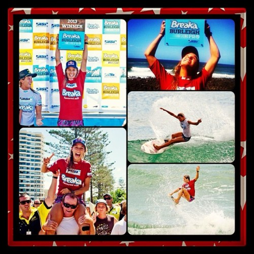 @sally_fitz winner of the #breakaburleighpro! #gosally #surf #surfing