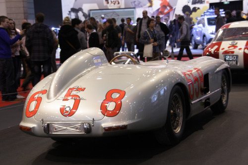 carpr0n:  Crown jewel Starring: Mercedes-Benz 300 SLR (by jenskramer)