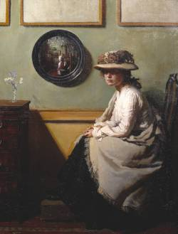 "William Orpen, ""The Mirror"" (1900)."