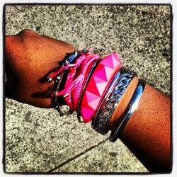 #armcandy for today. New outfit post coming up! #fashion #accessories #forever21 #aldo #fun #fashionfriday