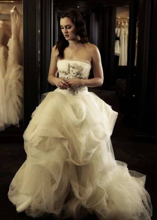 zeshoow:  Blair Waldorf Wedding Dress