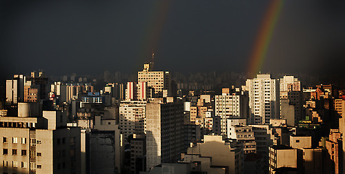 São Paulo An afternoon after a rainstorm Follow me on facebook! :)