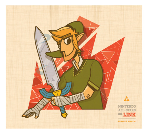 Nintendo All-Stars #1: Link First of a series! Direct from the best franchise ever created by Nintendo, Link.