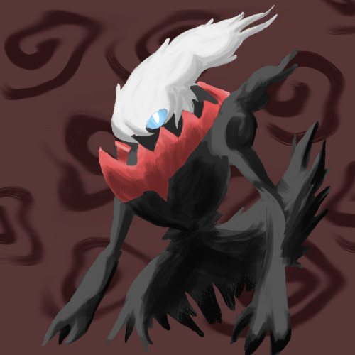 deviousshadow:  Darkrai used Nightemare (10 minute doodle)