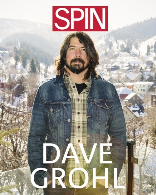 Yes He Can: Inside SPIN's February Dave Grohl Cover Story