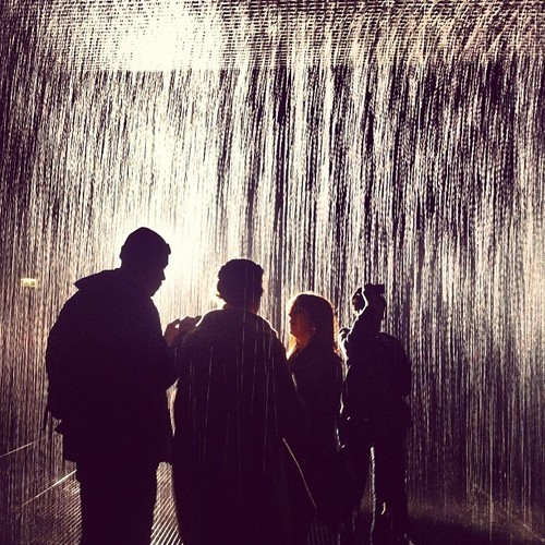Rain room by Random International #rainroom #art #installation #wet #barbican #instagood #igers #picoftheday #instagram #iphonephotography #randominternational #photooftheday  (at Barbican Centre)