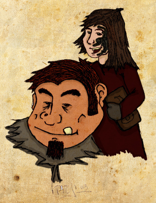 Wun Wun y Shireen by ~patojv