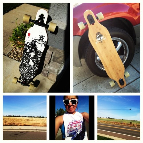 strength-in-the-weak:  It was a beautiful day to longboard 👌#arbor #arborboards #longboard #myview #lovemyboard #chill #hotAF #relaxing #elkgrovefields #dontmindmyface #ihopeigottan