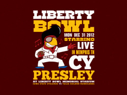 Liberty Bowl Poster Print | Freelance (2012)