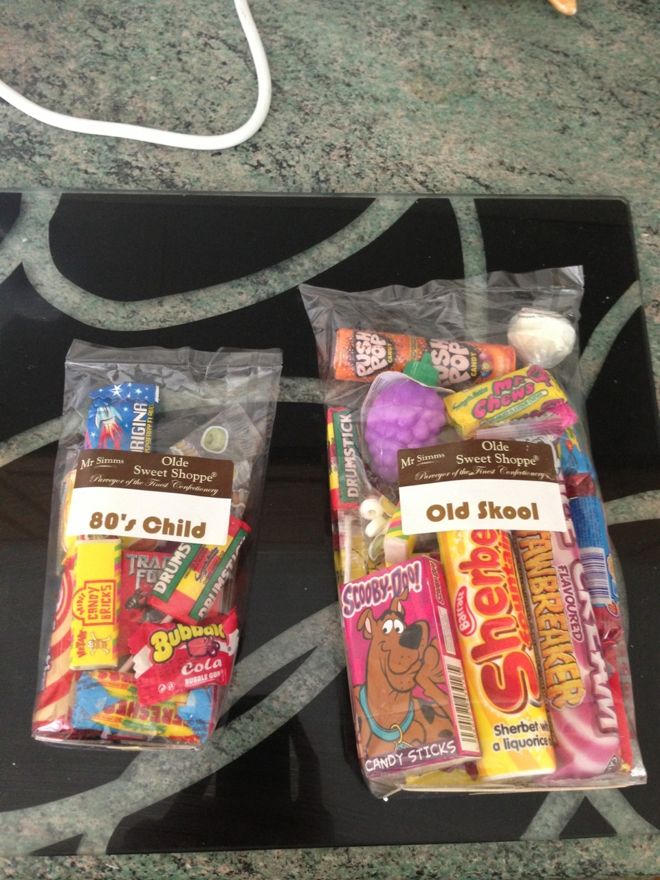 My best friend knows me so well she got me loads of sweets for my 24th birthday!