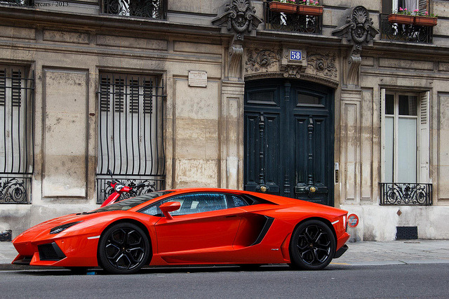 amazingcars:  Bull in Paris. by Theo-Supercars on Flickr.