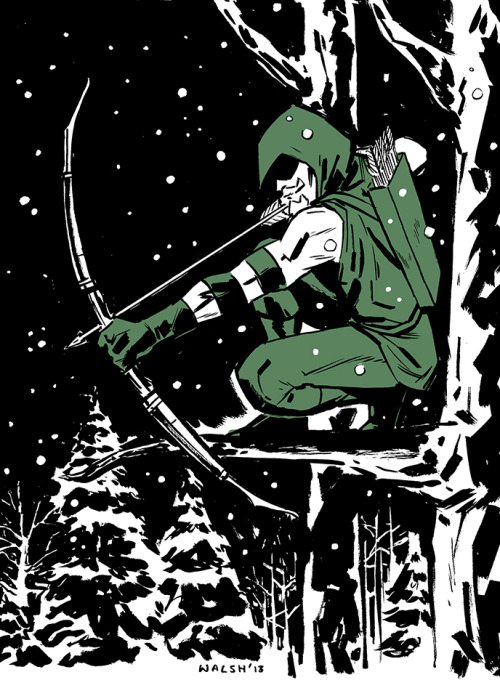 Green Arrow C2E2 Commission.