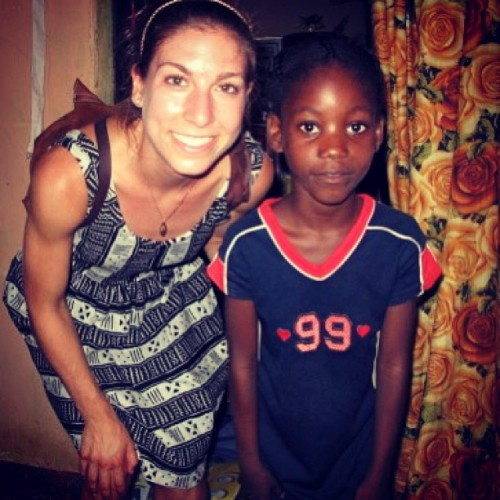 @juliahermann with Success on the #Buduburam #Refugee camp in #Ghana