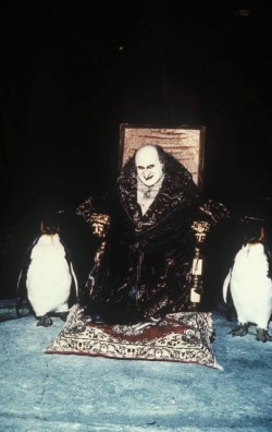 Danny DeVito as The Penguin in Batman Returns.