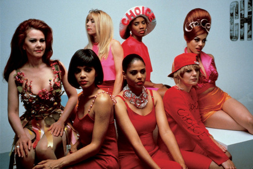 Kim Gordon of Sonic Youth, Tina Weymouth Of Tom Tom Club, and Talking Heads,Kate Pierson of the b52's, Crystal Waters, Korina, MC LYTE, and Lady Miss Kier From Deee-lite.