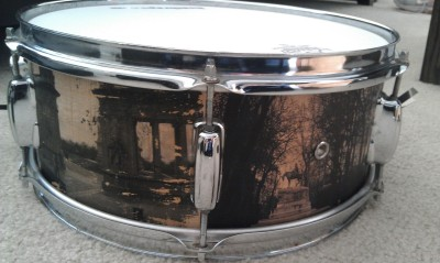 Build thread on my custom image snare drum, coming soon!