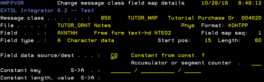 cleo extol integrator constant key length