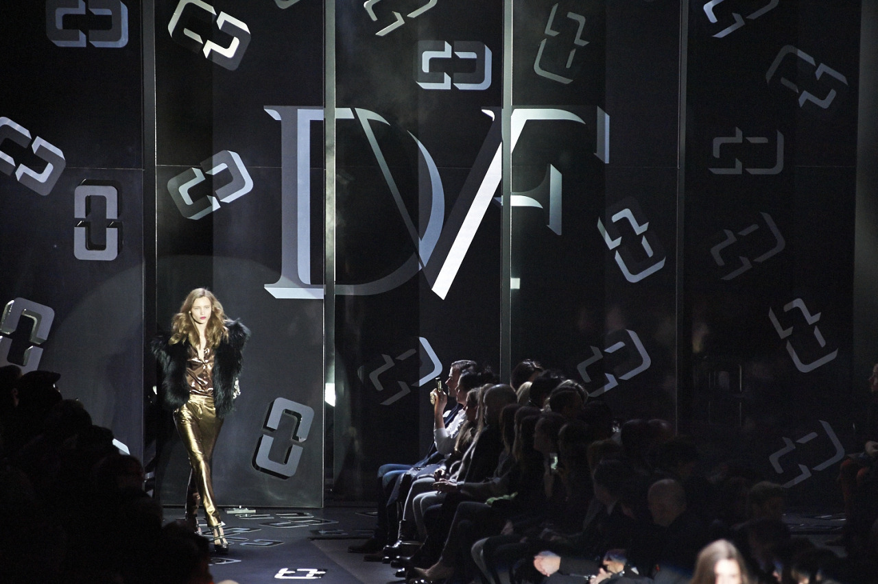 DVF RTW FW13  Lincoln Center  Sunday February 10th 2013  Produced and designed by Bureau Betak