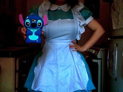 My Alice 2.0 Lolita costume. Looking cute.