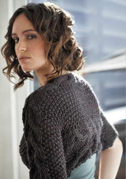 fuckyeahknittingbabes:  Side to Side Cable Cardi by Jo Sharp