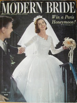 vintagebrides:  Modern Bride: Travel Supplement, Spring 1958