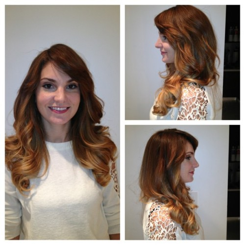Beautiful Ombré color done by me and blowout done by @kukiny…The @AmoyCoutureNY #tagteam back again!!! #RoMorgan #AmoyCoutureHair #hair #beauty #hairisfashion #picstitch #blowouts #bestinbeauty #ombrecolor #haircolor