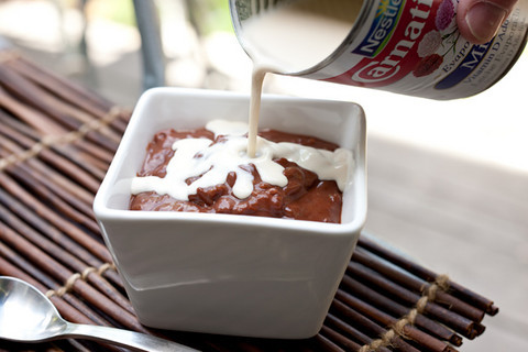 Champorado (Filipino Chocolate Rice Pudding)