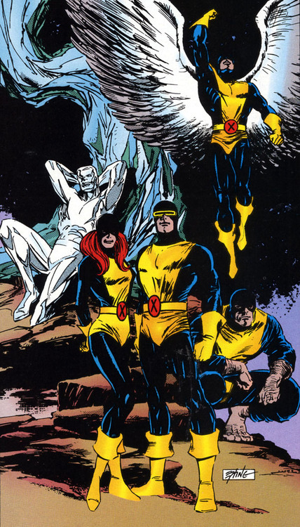 comicblah:  The Original X-Men by Steve Epting
