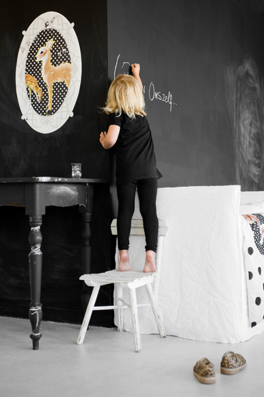 chalkboard love (via my scandinavian home)