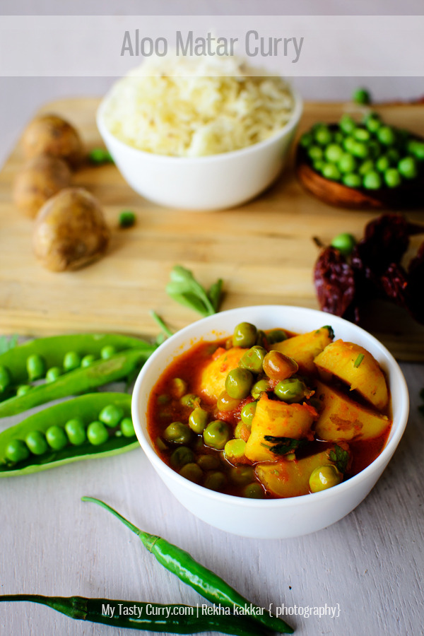 (via My Tasty Curry: Aloo Matar Curry | Simple Potato and Peas Curry Recipe)