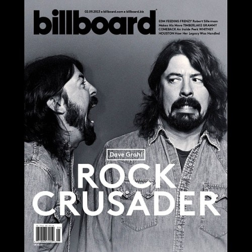 This week's cover feat. Dave Grohl! Buy here: http://blbrd.co/VsKVCL (at Billboard)