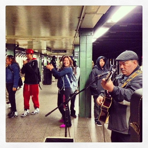 #q #unionsq #mta #underground #subway #nyc #newyork  (at union square station)