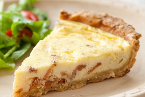 Healthy quiche with real cheese and real bacon? Give our Low-Fat Quiche Lorraine a try this weekend.
