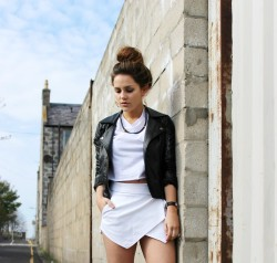 lookbookdotnu:  Hey Skort (by Amy Bell)
