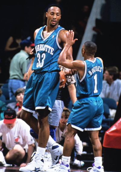 Zo and Muggsy  #HornetsBack