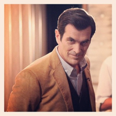 teamcoco:  Ty Burrell backstage.  (at Warner Bros Stage 15)