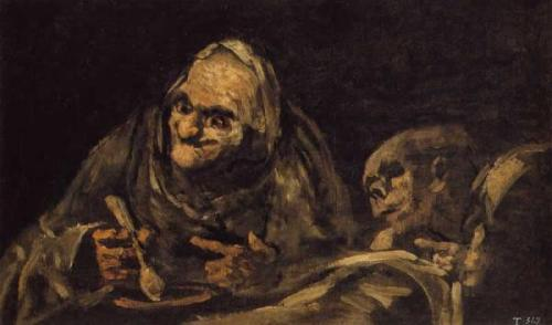 Did some reading on Goya's Black Paintings today, after being directed there by Ben Fleuter's comic, Derelict. (It's a long story. Incidentally, the comic is excellent!) Consider me thoroughly disturbed. Especially by the most famous of the paintings.