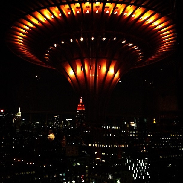 Close Encounters at The Standard #nyfw #attheshows  (at The Standard - High Line)