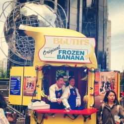 🍌#thereisalwaysmoneyinthebananastand #arresteddevelopment  (at columbus circle)